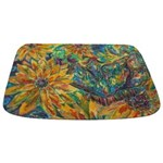 Dramatic Butterfly Bathmat Bathmat
