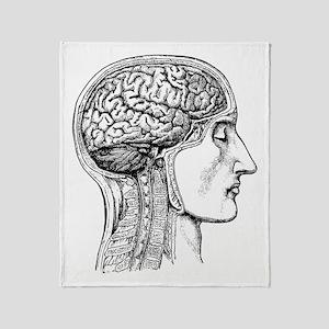 The Human Brain Throw Blanket
