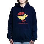 Personalized Duck Hooded Sweatshirt