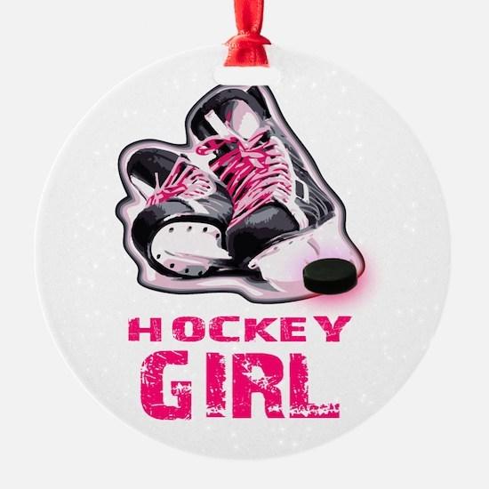 hockey girl Ornament
