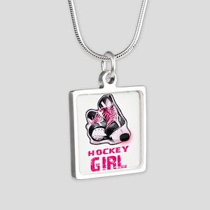 hockey girl Necklaces