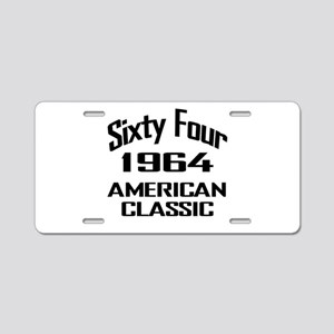 50th Gifts, 1964 American Classic Aluminum License