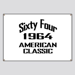 50th Gifts, 1964 American Classic Banner