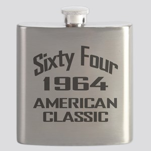50th Gifts, 1964 American Classic Flask