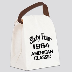 50th Gifts, 1964 American Classic Canvas Lunch Bag