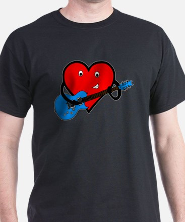 Guitar Heart T-Shirt