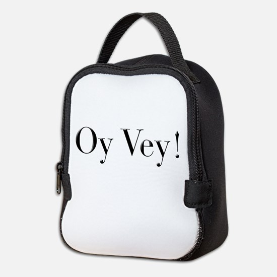 oyvey.psd Neoprene Lunch Bag