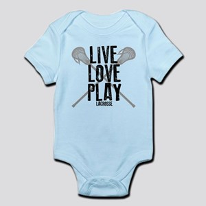 Live, Love, Play Lacrosse Body Suit