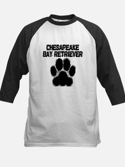 Chesapeake Bay Retriever Distressed Paw Print Base