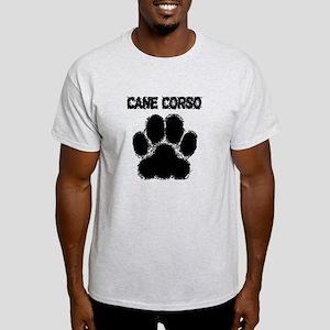 Cane Corso Distressed Paw Print T-Shirt