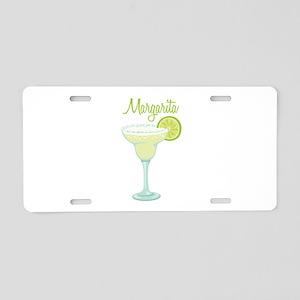 Margarita Aluminum License Plate