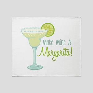 Make Mine A Margarita! Throw Blanket