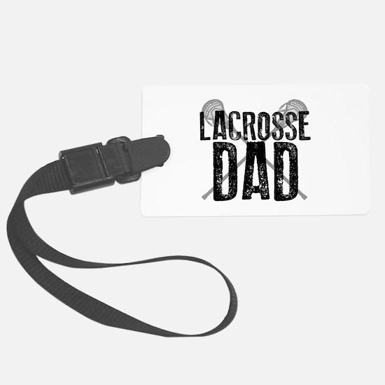 Lacrosse Dad Luggage Tag