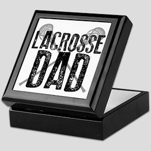 Lacrosse Dad Keepsake Box