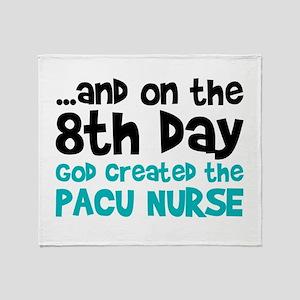 PACU Nurse Creation Throw Blanket