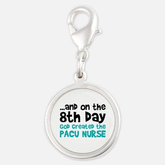 PACU Nurse Creation Silver Round Charm