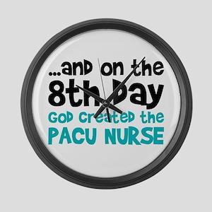 PACU Nurse Creation Large Wall Clock