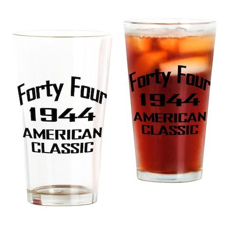1944, 70th Birthday Drinking Glass