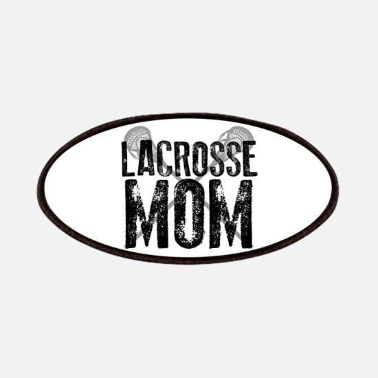 Lacrosse Mom Patches