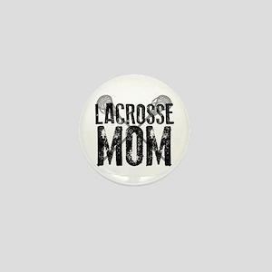 Lacrosse Mom Mini Button