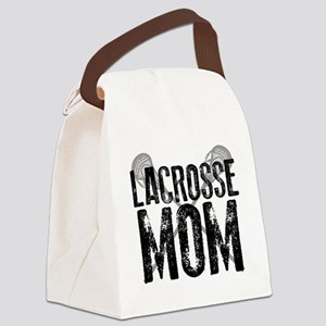 Lacrosse Mom Canvas Lunch Bag