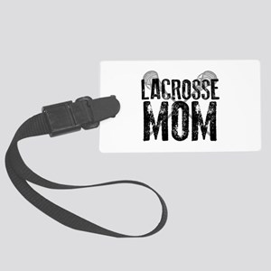 Lacrosse Mom Luggage Tag