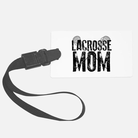 Lacrosse Mom Luggage Tag