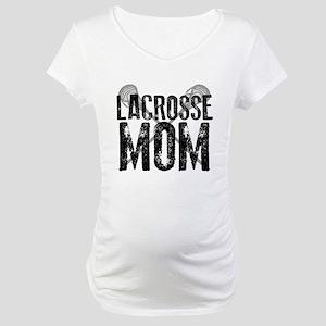 Lacrosse Mom Maternity T-Shirt