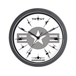 Air Force Aircraft Wall Clock