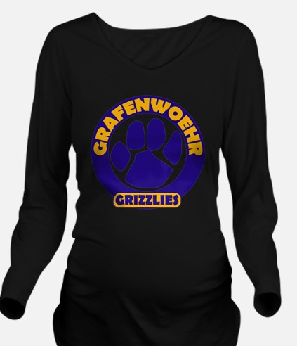 Grafenwoehr Grizzly  Long Sleeve Maternity T-Shirt