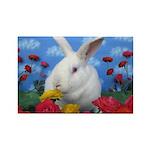 Penelope Jane-in Spring Flowers Magnets