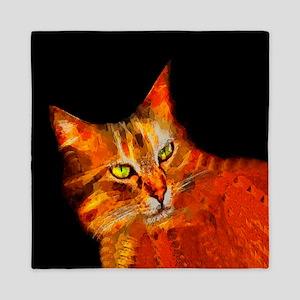 Tabby Cat Queen Duvet