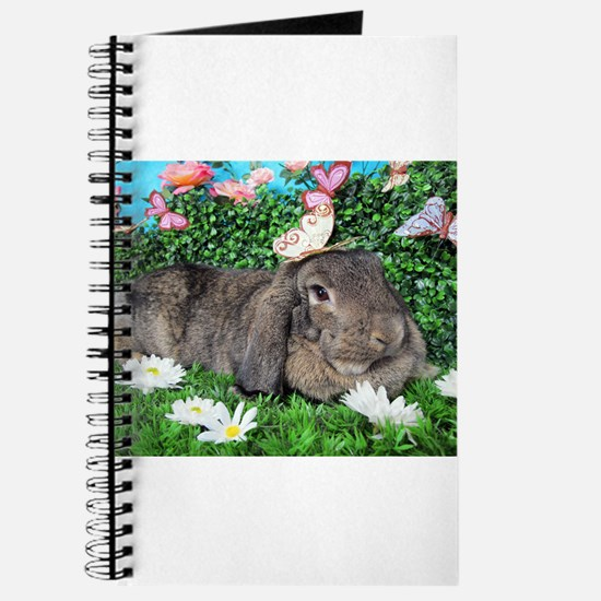 Phoebe-Spring Butterflies Bunny Journal