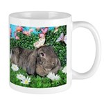 Phoebe-Spring Butterflies Bunny Mugs