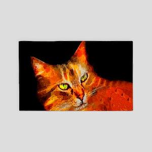 Tabby Cat Area Rug