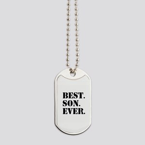Best Son Ever Dog Tags