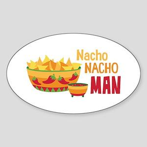 Nacho NACHO MAN Sticker