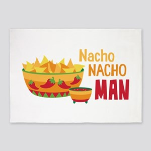 Nacho NACHO MAN 5'x7'Area Rug
