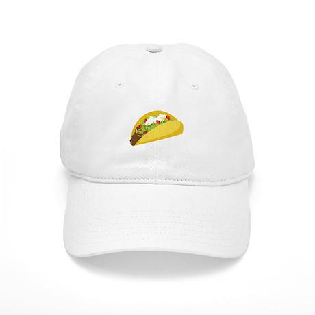 Taco Baseball Baseball Cap by Hopscotch6 d285e0c0833