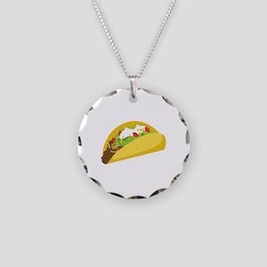 Taco Necklace