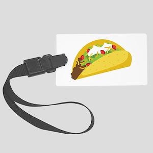Taco Luggage Tag