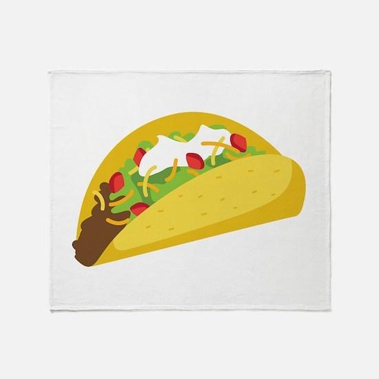 Taco Throw Blanket