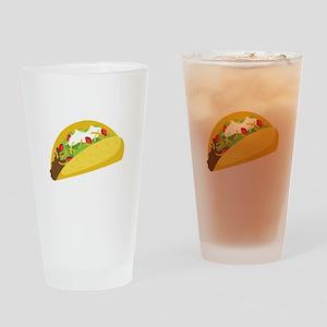 Taco Drinking Glass