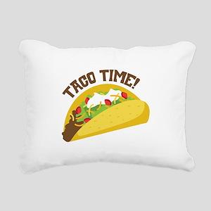 TACO TIME! Rectangular Canvas Pillow