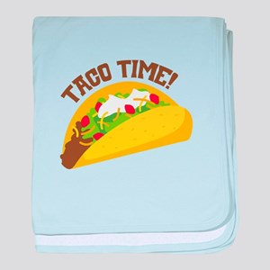 TACO TIME! baby blanket