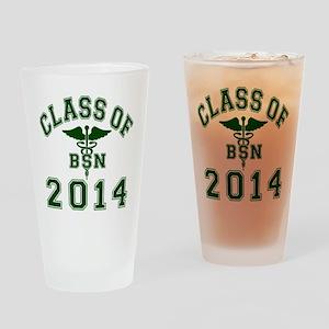 Class Of 2014 BSN Drinking Glass