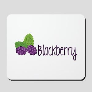 Blackberry Fruit Mousepad