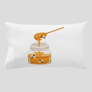 Honey Bees Jar Pillow Case