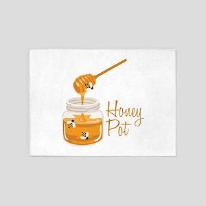 Honey Pot 5'x7'Area Rug