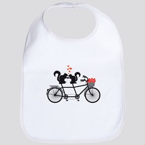tandem bicycle with squirrels Bib